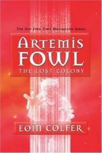 artemis fowl lost colony cover 199x300 Artemis Fowl: The Lost Colony by Eoin Colfer