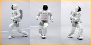 asimo white 300x150 Loving the Machine: The Art and Science of Japanese Robots by Timothy N. Hornyak