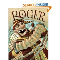 roger the jolly pirate cover Roger the Jolly Pirate by Brett Helquist