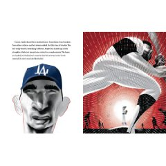 sandy koufax 2 You Never Heard of Sandy Koufax?!, a Biography by Jonah Winter and Illustrated by Andre Carrilho