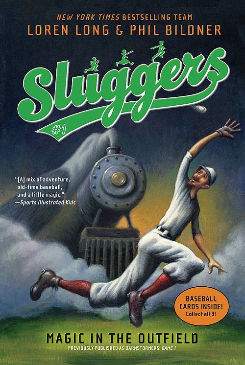 sluggers1 big Game 1 of the Barnstormers Series by Loren Long and Phil Bildner is Game On!