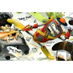 zot the destroyer Revew: Robot Zot by Jon Scieszka, Illustrated by David Shannon