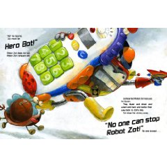 zot the rescuer Revew: Robot Zot by Jon Scieszka, Illustrated by David Shannon
