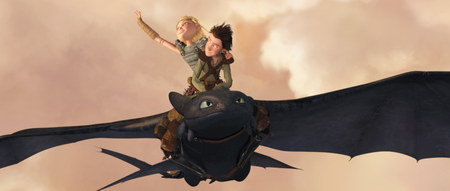 How to Train Your Dragon Movie Shot